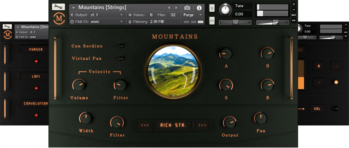 "70% off ""Mountains"" by Sound Aesthetics Sampling"