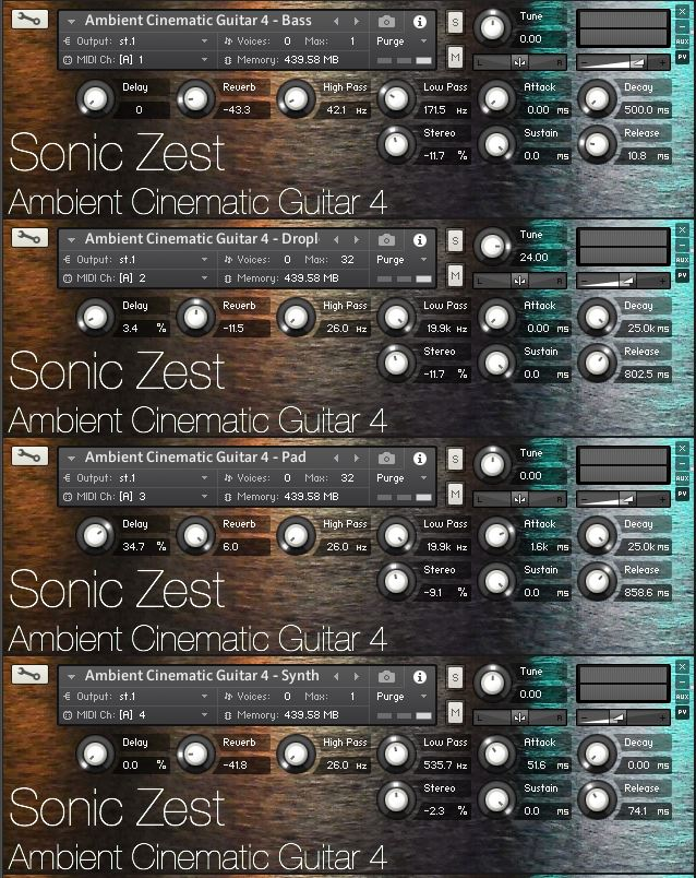 "57% off ""Ambient Cinematic Guitar 4"" by Sonic Zest"
