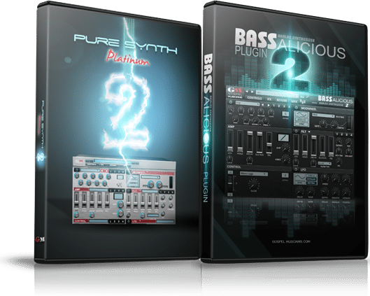 """73% off """"BASSalicious & Pure Synth Platinum 2"""" by Gospel Musicians"""