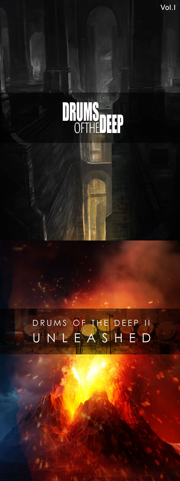 """75% off """"Drums Of The Deep Bundle"""" by Auddict"""