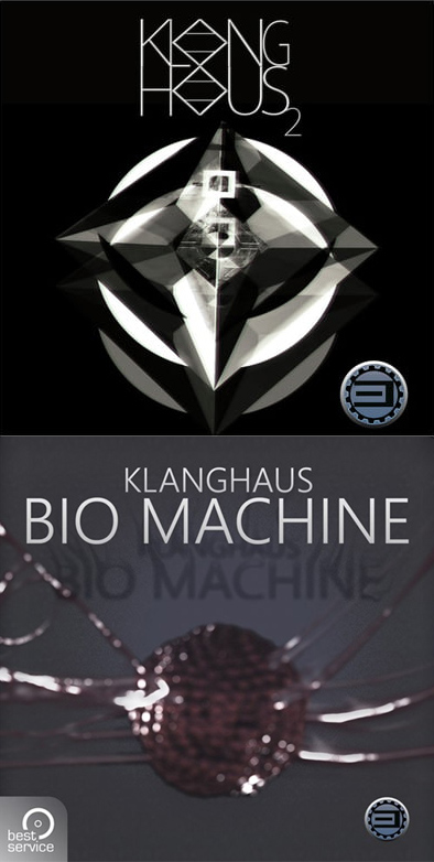 "60% off ""Klanghaus 2"" & ""Klanghaus Bio Machine"" by Best Service"