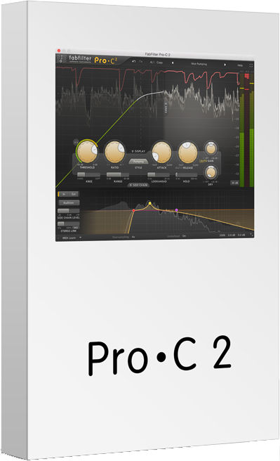 "25% off ""Pro-C 2"" by FabFilter"