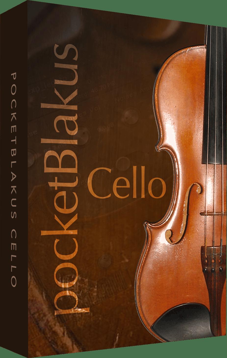 pocketBlakus Cello - Free Cello Kontakt Library
