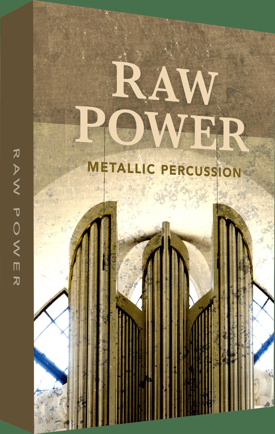 RAW Power Metallic Percussion
