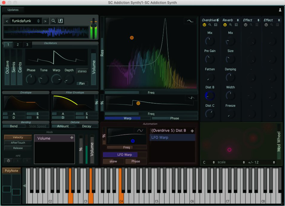 "80% off ""Addiction Synth"" by Stagecraft"