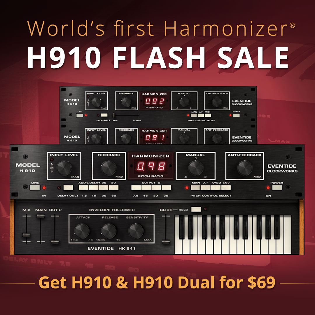 "72% off ""H910 Harmonizer"" by Eventide"