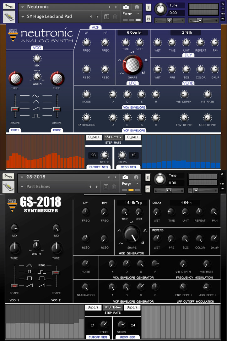 "72% off ""Neutronic & GS-2018 Synths"" by Genera Studios"