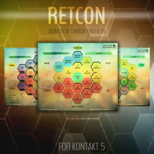 "60% off ""Retcon – Boards Of Canada Synthesis"" by Audiowarp"