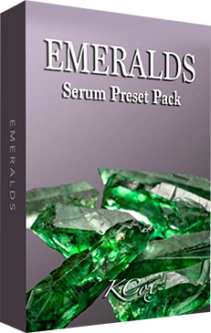 Emeralds Serum Pack by K Cox