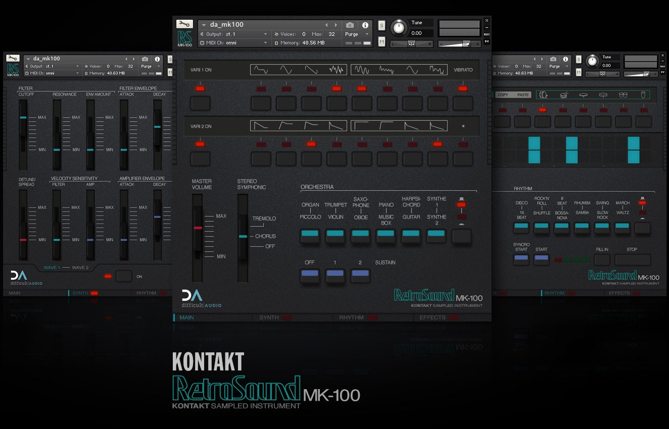 "60% off ""RetroSound MK100"" by difficultAudio"