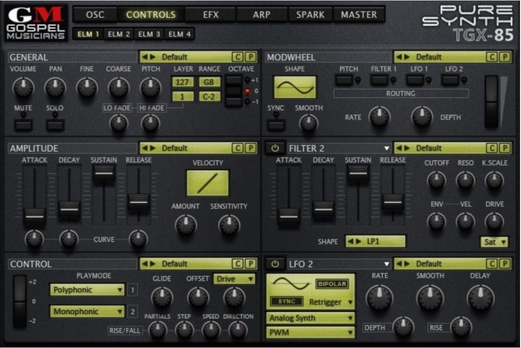 """77% off """"Synth Bundle"""" by Gospel Musicians"""