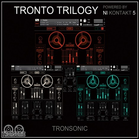 "70% off ""Tronto Trilogy"" by Tronsonic"