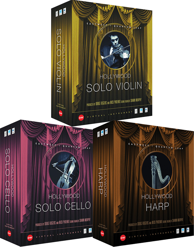 """60% off """"Hollywood Solo Instruments Bundle (Gold Edition)"""" by EastWest/Quantum Leap"""