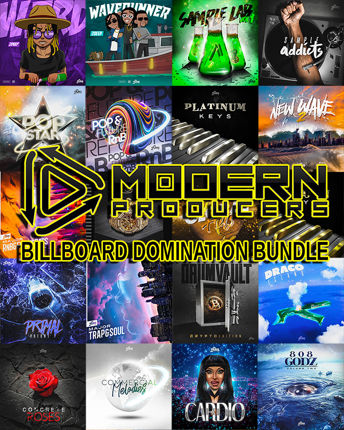 "96% off ""Billboard Domination Bundle"" by Modern Producers"