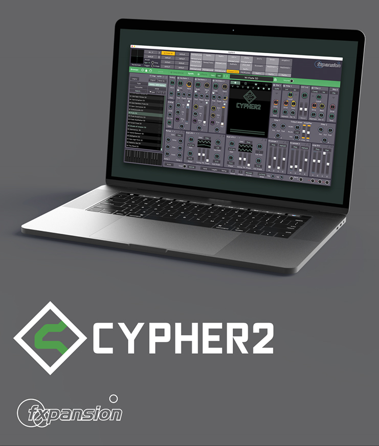 "40% off ""Cypher2"" by FXpansion"