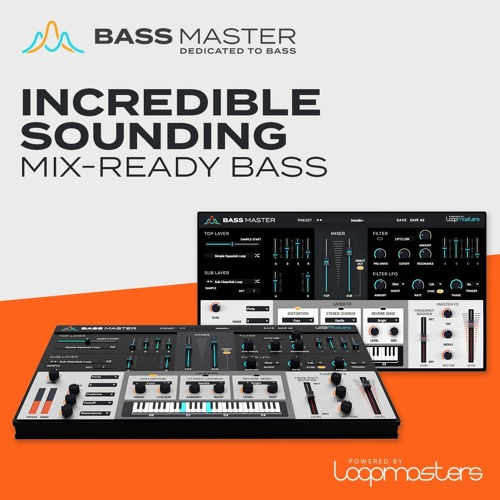 "50% off ""Bass Master"" by Loopmasters"