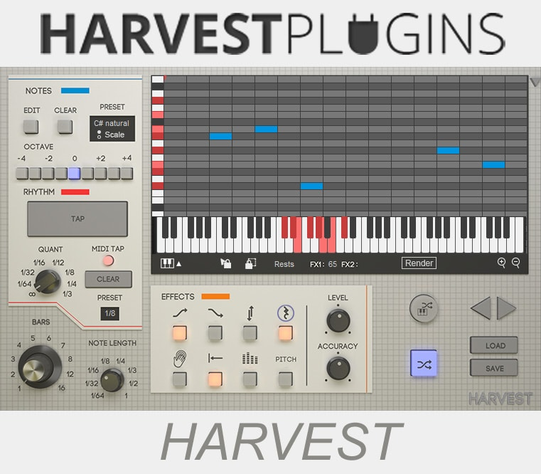 "58% off ""Harvest"" by Harvest Plugins"