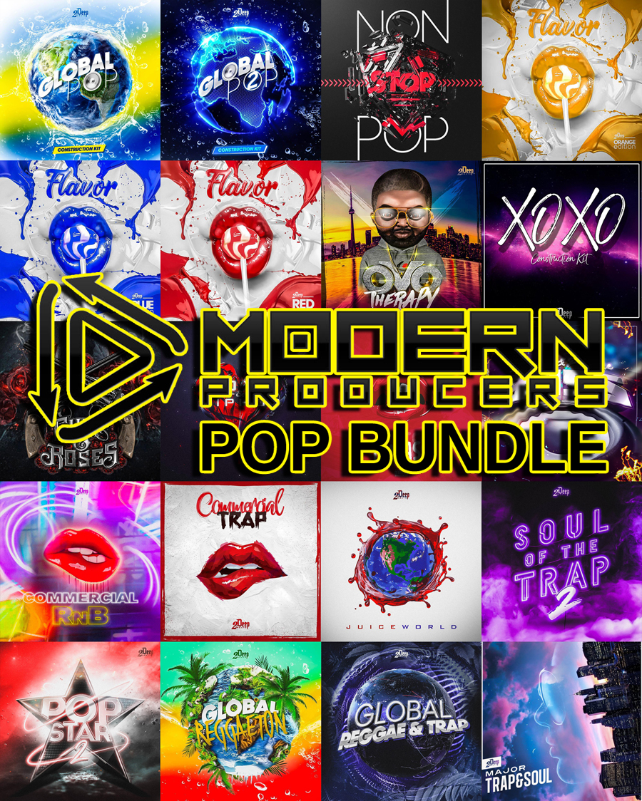 "96% off ""Pop Bundle"" by Modern Producers"
