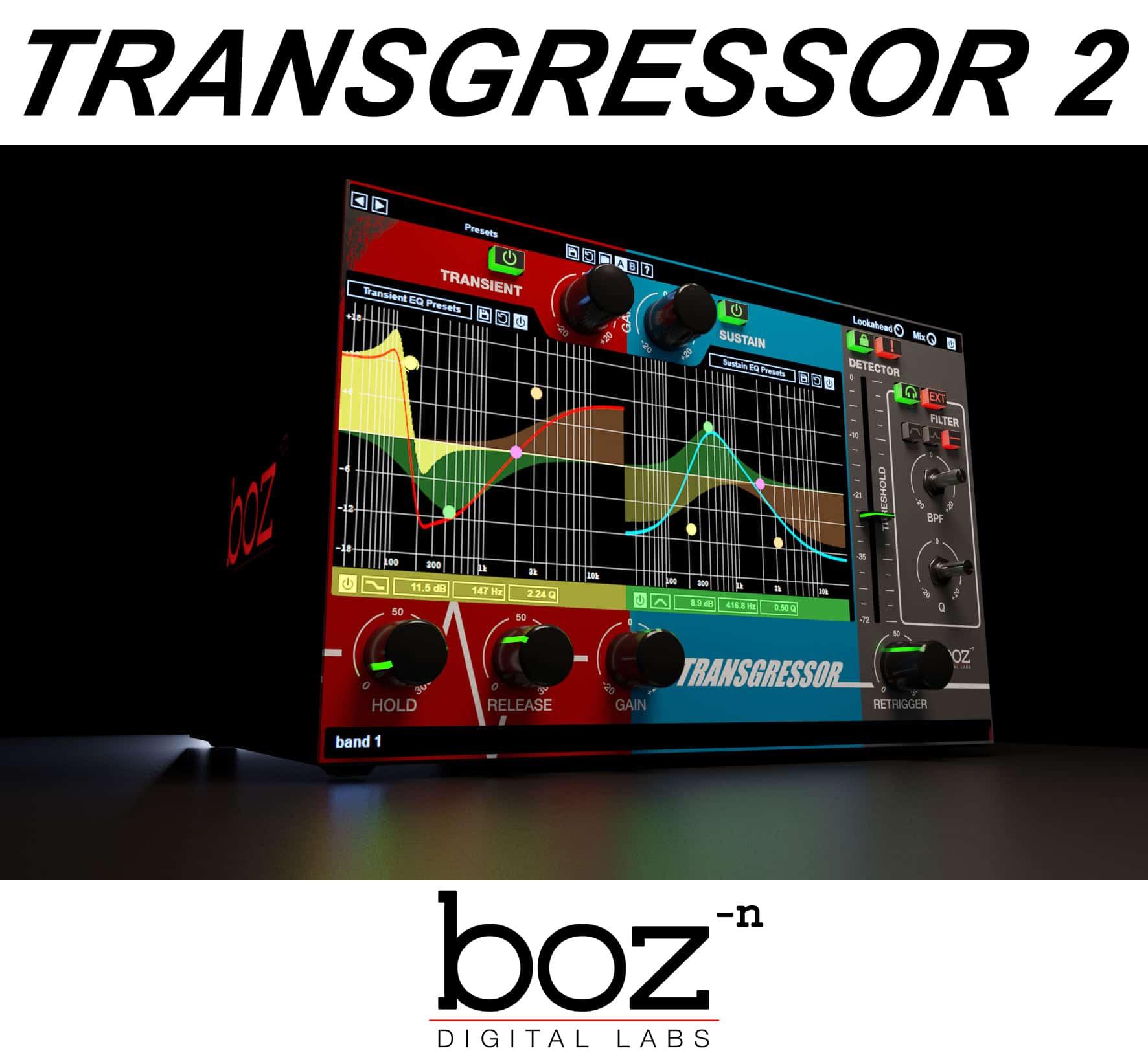 """70% off """"Transgressor 2"""" by Boz Digital Labs"""