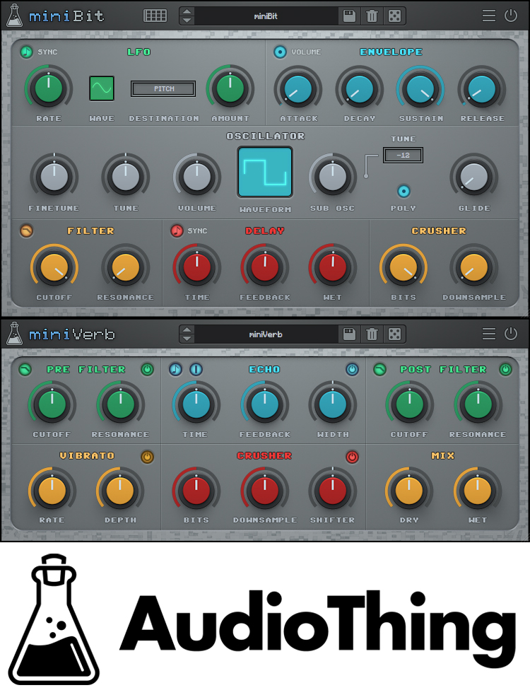 "58% off ""The 8bit Bundle"" by AudioThing"