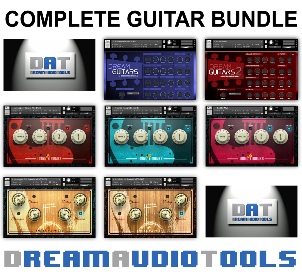 "72% off ""Complete Guitar Bundle"" by Dream Audio Tools"