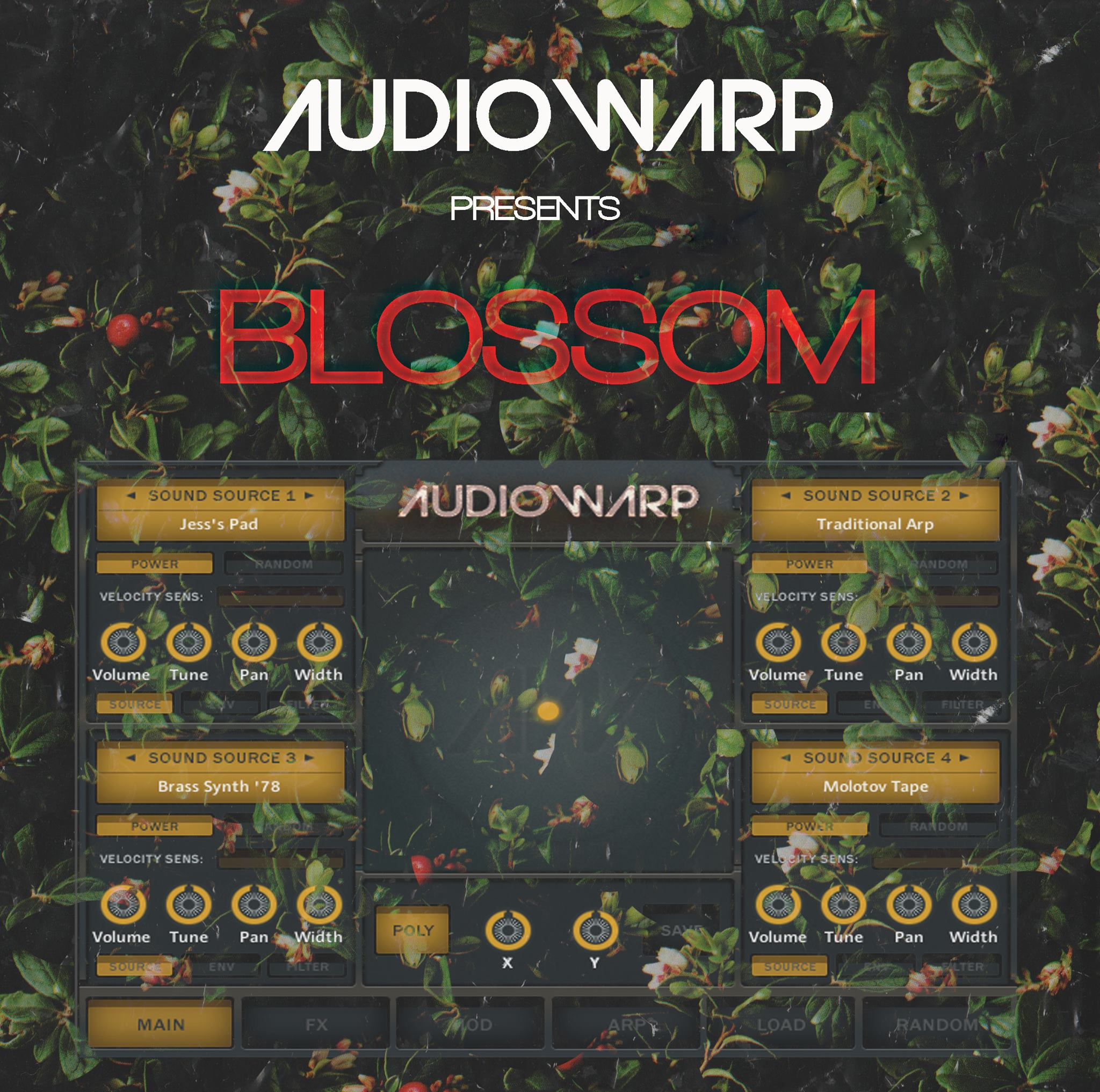 "60% off ""Blossom"" by Audiowarp"