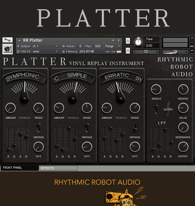 "55% off ""Platter"" by Rhythmic Robot"