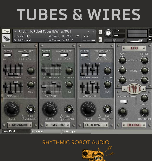 "55% off ""Tubes & Wires"" by Rhythmic Robot"