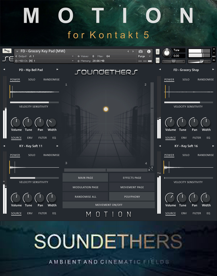 "50% off ""Motion"" by Soundethers"
