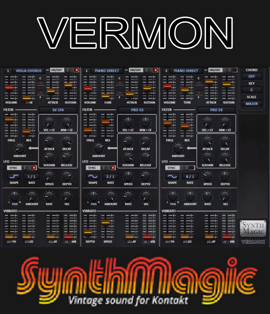 "57% off ""Vermon Synth"" by Synth Magic"