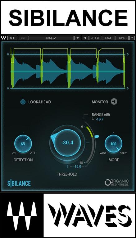 New Genuine License Serial Digital Delivery Waves Sibilance Plugin