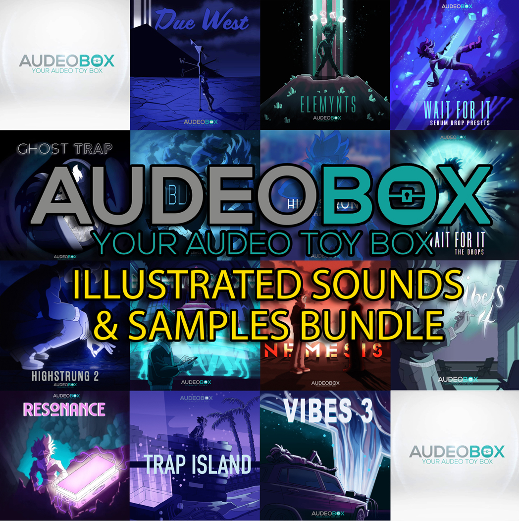 "93% off ""Illustrated Sounds & Samples Bundle"" by Audeobox"