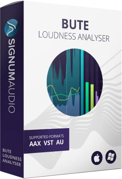 """60% off """"BUTE Loudness Analyser Stereo"""" by Signum Audio"""