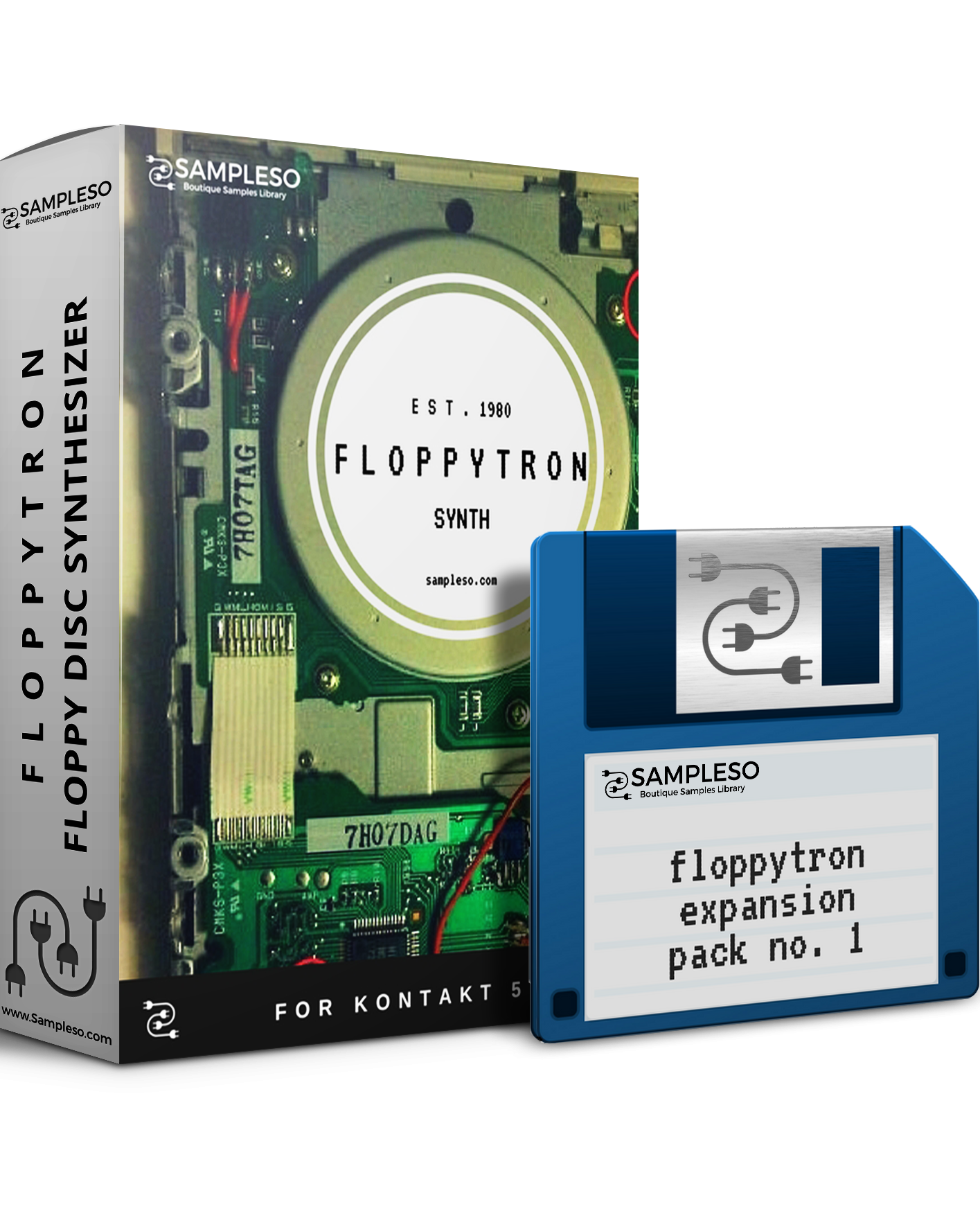 80% off 'Floppytron Synth + Expansion' by Sampleso