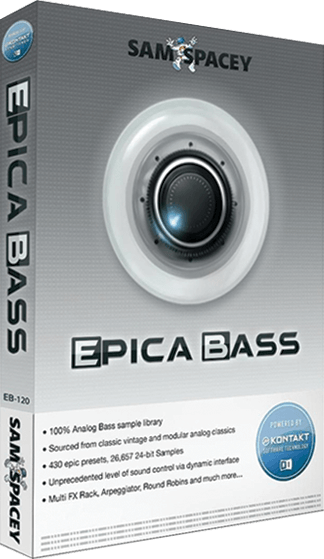 "65% off ""Epica Bass"" by Sam Spacey (Free Kontakt Player)"