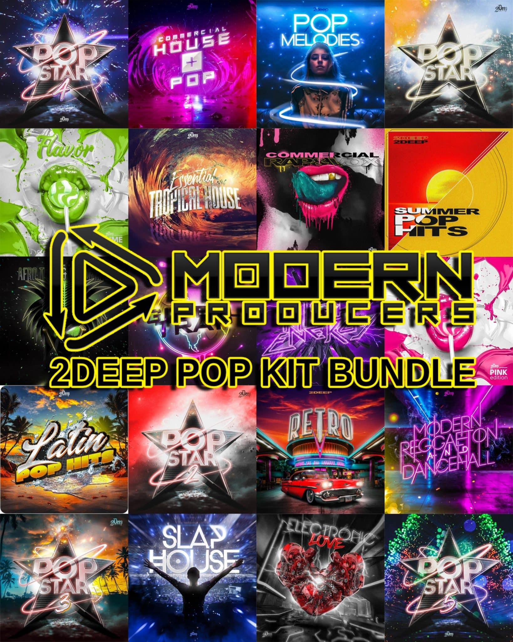 "95% off ""2DEEP Pop Kit Bundle 2021"" by Modern Producers"