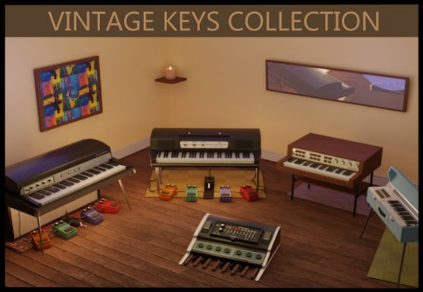 """75% off """"The Vintage Keys Collection"""" by Insanity Samples"""