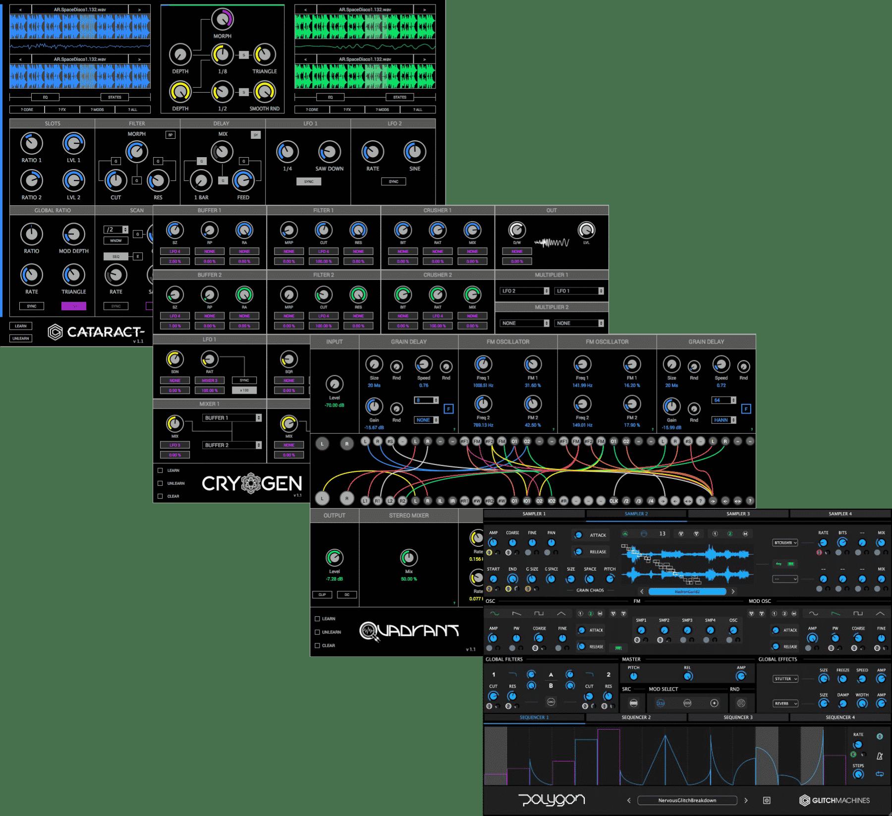 """95% off """"Sound Design Bundle"""" by Glitchmachines"""