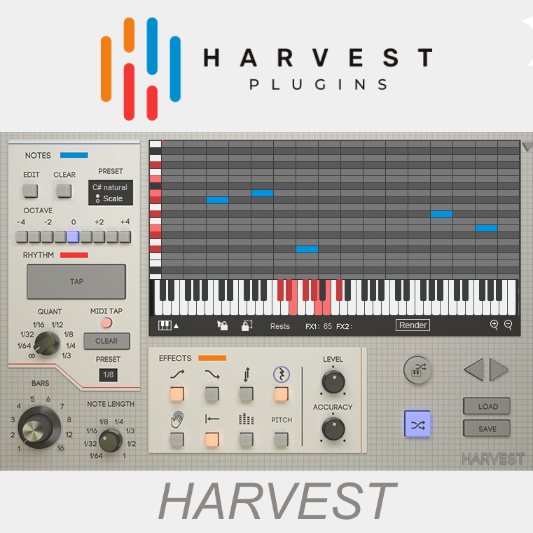 """58% off """"Harvest"""" by Harvest Plugins"""