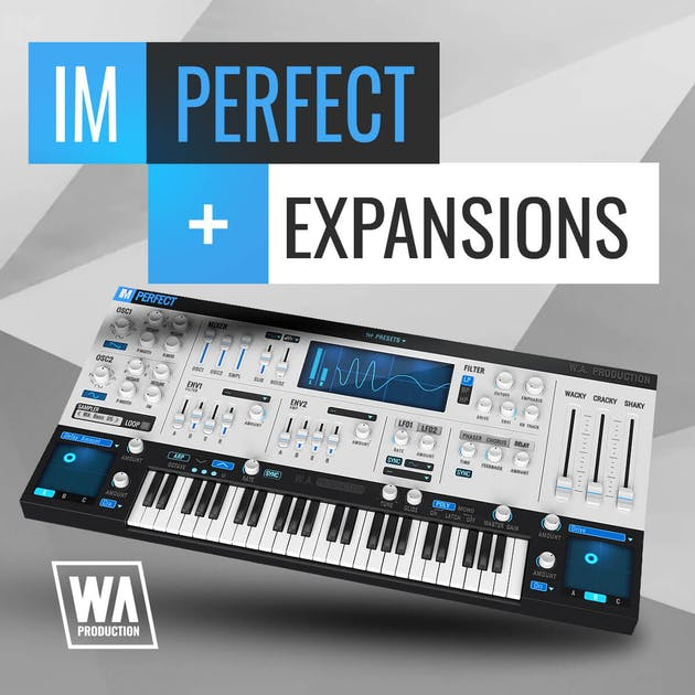 """89% off """"ImPerfect Synth & Expansions"""" by W.A. Production"""