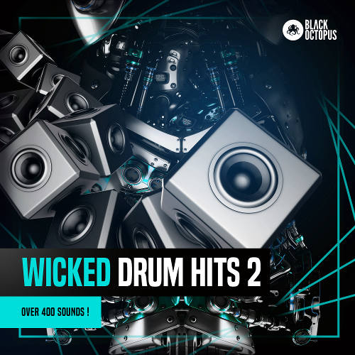 """FREE! """"Wicked Drum Hits 2"""" by Black Octopus Sound"""